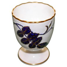 Antique Minton Cobalt Egg Cup