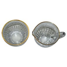 Waterford Marquis Hanover  Sugar and Creamer Set