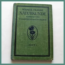 Schmeil-Franke Naturkunde 1931, Botanic and Zoologic Color Plates