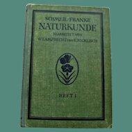 Schmeil-Franke Naturkunde 1931, Botanic and Zoologic Color Plates