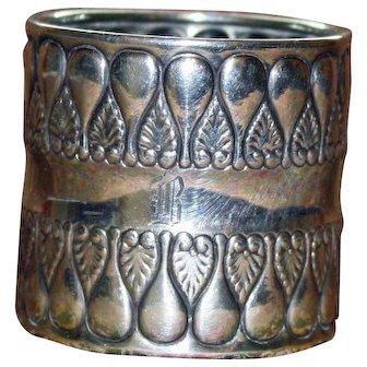 Gorham Antique (1896) Sterling Napkin Ring - Stunning