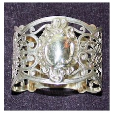 Antique 1903 English Sterling Napkin Ring