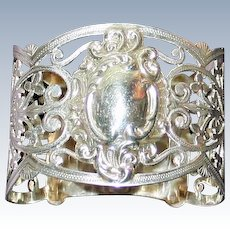 Antique 1903 Sterling Napkin Ring From England