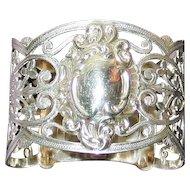 Antique 1903 English Sterling Napkin Ring