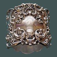 57.5 Gram Antique Gorham Majestic Sterling Napkin Ring