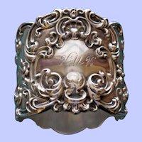 Antique Sterling Gorham Majestic Napkin Ring