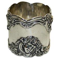 Antique Shiebler Sterling Napkin Ring - Extraordinary