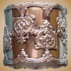 Outstanding Tiffany Antique Sterling Napkin Ring