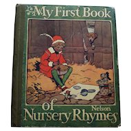 My First Book of Nursery Rhymes, Nelson, c. 1923