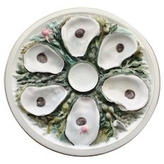 Antique Round Union Porcelain Works (UPW) Oyster Plate