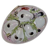 Antique UPW Oyster Plate (Union Porcelain Works)