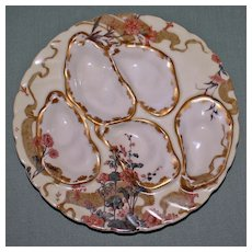 Antique Haviland Limoges Aesthetic Oyster Plate