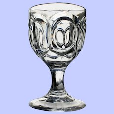 """Pendleton"" Goblet. Early American Pattern Glass"