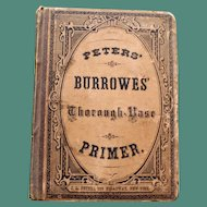 Peters' Burrowes' Thorough-Base Primer  1872 (Music)