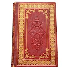 The Pilgrim's Progress by John Bunyan Red Leather Bound 1849