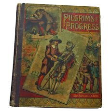"""The Pilgrim's Progress in Words of One Syllable"" by Mary Godolphin, Decor"