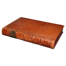 """1853 """"Polyglotte der Orientalischen Poesie""""  by Dr. H. Jolowicz,  Original Full Leather Binding"""