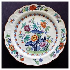 """Antique Booths """"The Pompadour"""" Silicon China Dinner Plate 10.25 Inches"""