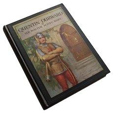 Quentin Durward by Sir Walter Scott, Scribners 1935, Illus. Bosseron Chambers