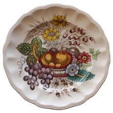 """Vintage Spode """"Reynolds"""" 7.5 Inch Plate, Vivid Colors"""