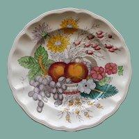 """Vintage Spode """"Reynolds"""" 8.5 Inch Plate"""
