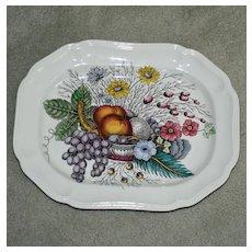 "Spode Vintage ""Reynolds"" Platter 14.25 In. by 11 In."