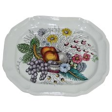 "Spode Vintage ""Reynolds"" Platter 14.25 In. by 11 In."