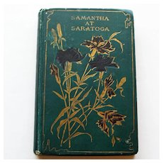 Samantha at Saratoga by Marietta Holley