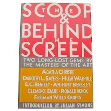 """The Scoop"" and ""Behind the Screen"", Two Long Lost Detective Gems"