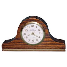 Small Vintage Working Seth Thomas Clock with Alarm