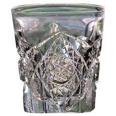 Antique Shot Glass, American Brilliant Period Cut Glass