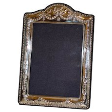 English Sterling Silver Picture Frame, Hallmarked