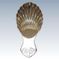Silverplate English Tea Caddy Spoon