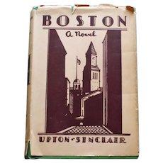 """Boston"" by Upton Sinclair, Vol. II - Pre Publication Printing, 1928"