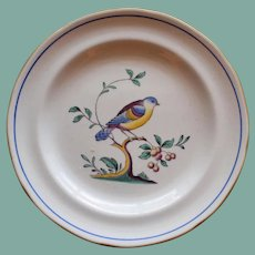 Vintage English Spode Queens Bird 6 Inch Plate Y 4973