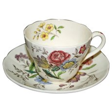 Copeland Spode Cup and Saucer, Gainsborough Pattern