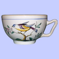 """English Spode """"Queen's Bird"""" Cups, Y 4973, Five Available"""