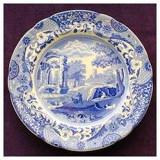 "Copeland Spode's ""Italian"" Blue Plate Old Mark"