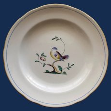 Vintage English Spode Queens Bird Plate, 7.5 Inches, 9 Available, S 3589
