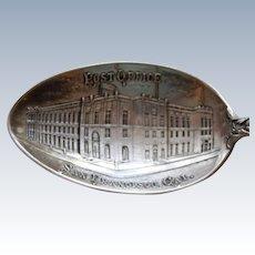 San Francisco Post Office Sterling Souvenir Spoon