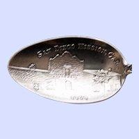 San Diego Mission American Sterling Souvenir Spoon by Watson