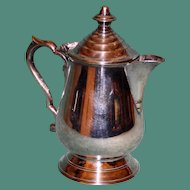 Antique English Silver Plate Teapot for One