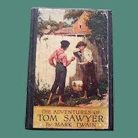 """The Adventures of Tom Sawyer"" by Mark Twain, 1938"