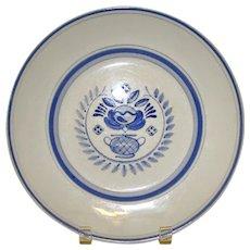 Arabia Blue Rose Dinner Plate