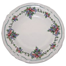 """Wedgwood Butter Plate in California """"Earth"""" Pattern"""