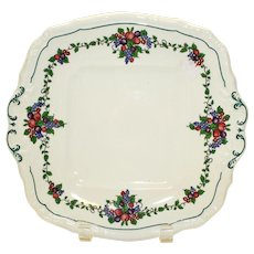 California Cake Plate by Wedgwood Etruria