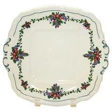 California Cake Plate by Wedgwood Etruria