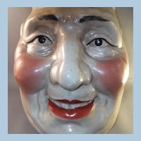 """Great Old Pottery Face Jug Pitcher """" Jolly Fellow """""""
