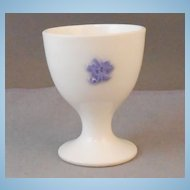 Adderley Blue Chelsea Pedestal Tiny Egg Cup
