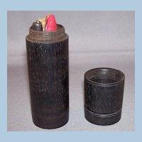 Edwardian Manicure Kit in Ebony Wood Case